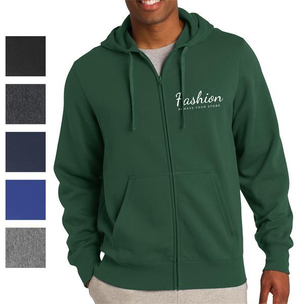 Crown Full-Zip Hooded Sweatshirt