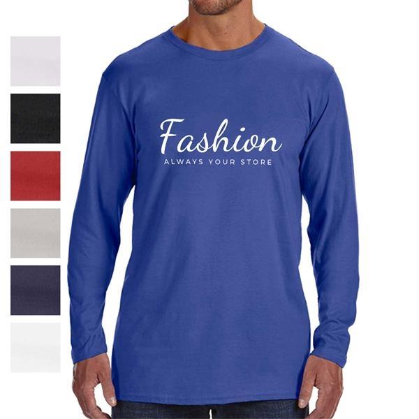 High Pace Men's Cotton Long Sleeve T-Shirt