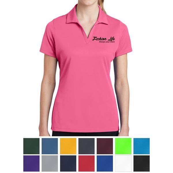 Ladies' Polo Shirt with PosiCharge® RacerMesh Design