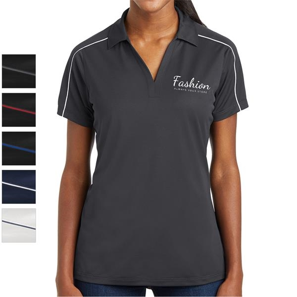 Athletic Ladies' Polyester Polo