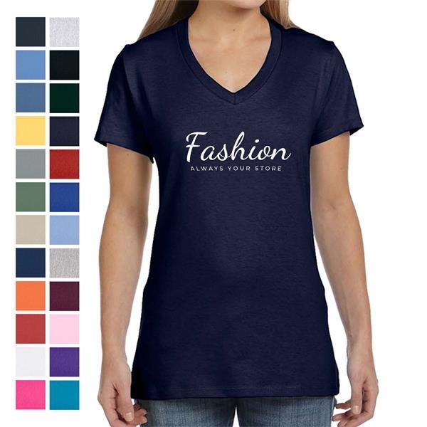Classy Ladies' V-Neck T-Shirt