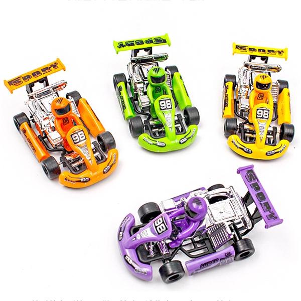 Pull Back Karting Children's Educational Toys