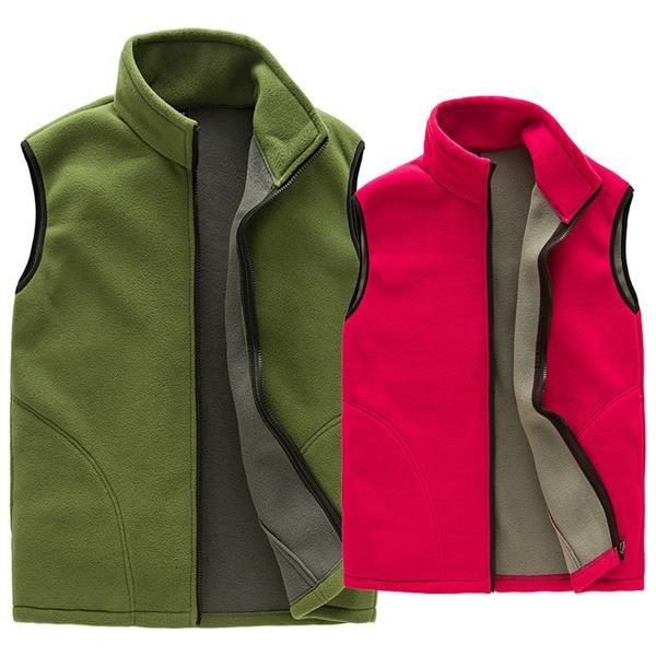 Fleece Vest, Traditional Winter Warm Vest