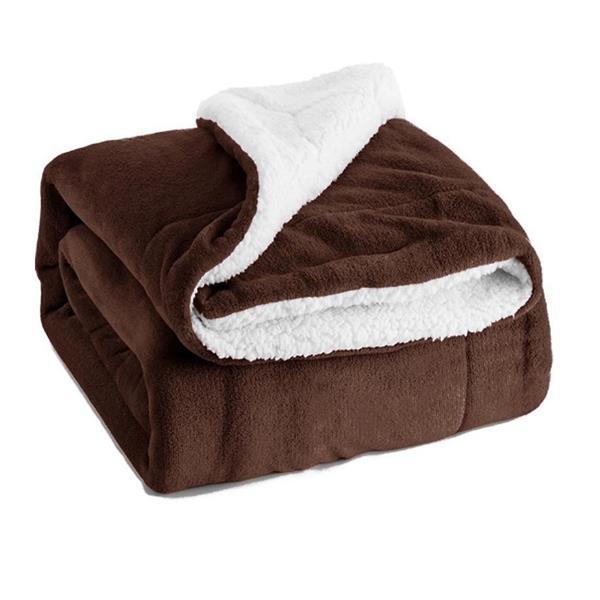Super Warm Sherpa Fleece Blanket Double flannel 39