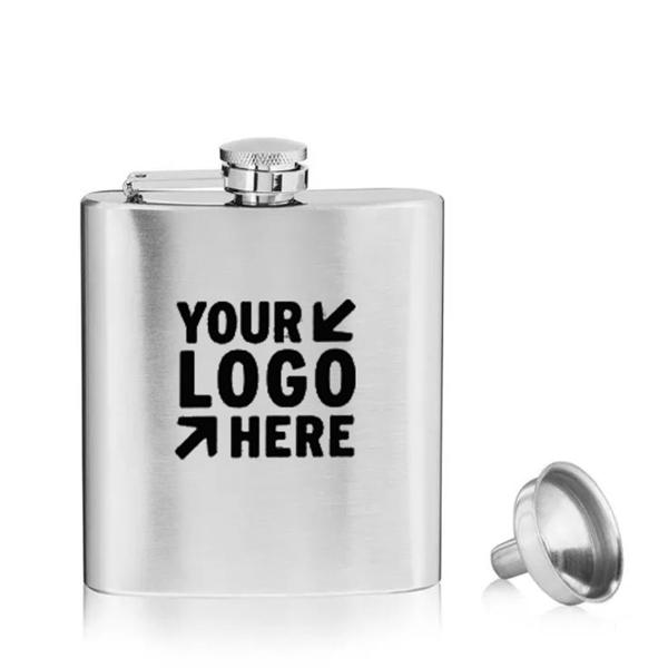 8 oz. Hip Flask