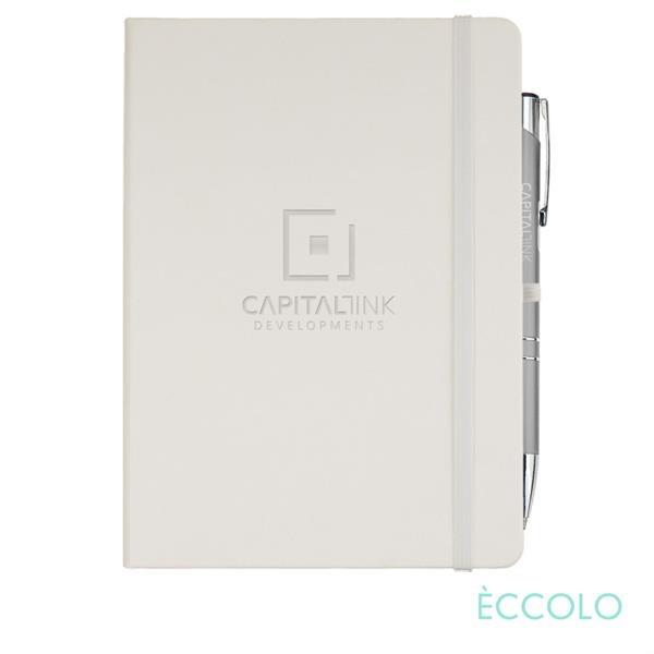 Eccolo® Cool Journal/Clicker Pen - (L)