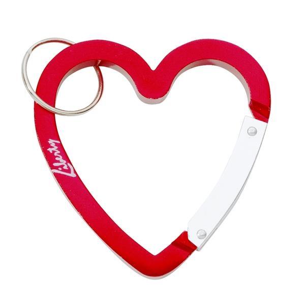 Heart Shaped Carabiner