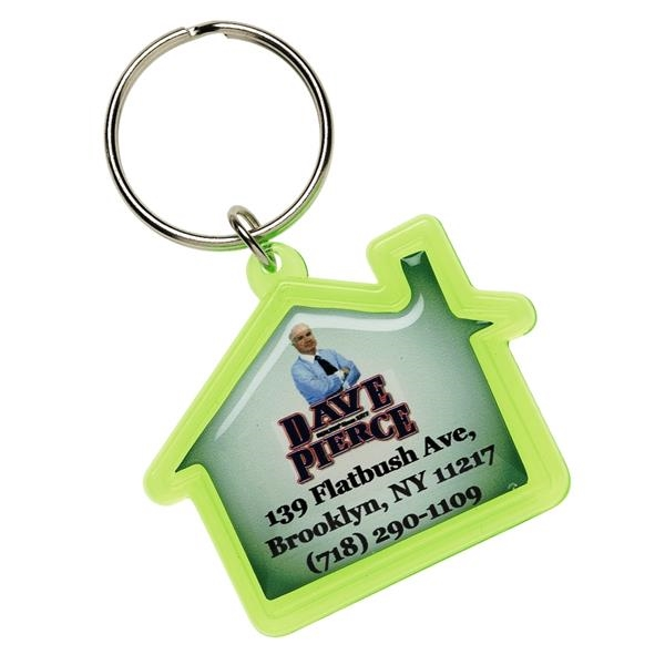 House Shaped Key Tag