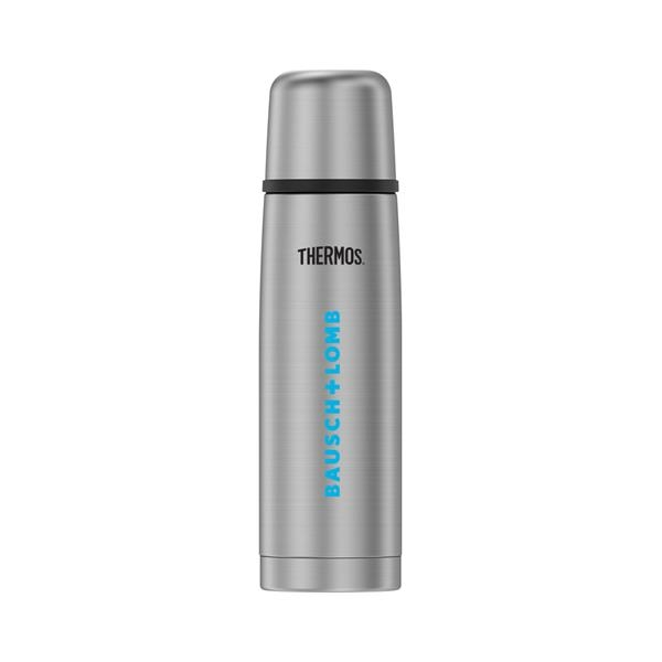 16 oz. Thermos® Double Wall Stainless Steel Backpack Bottle