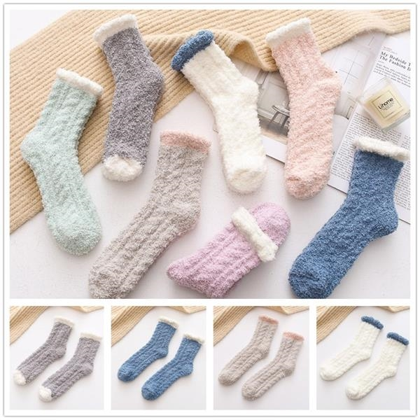 Fashion Fuzzy Warm Feet Socks