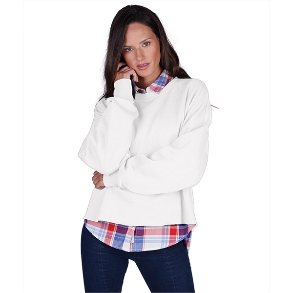 Clifton Distressed Boxy Sweatshirt
