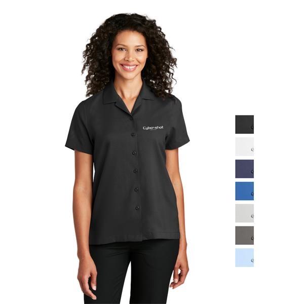 Port Authority® Ladies Short Sleeve Staff Shirt