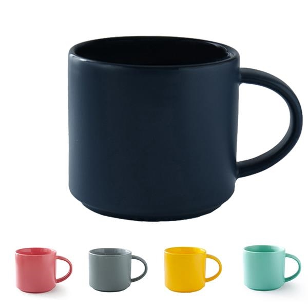 Solid Color Mug Ceramic Coffee Cup