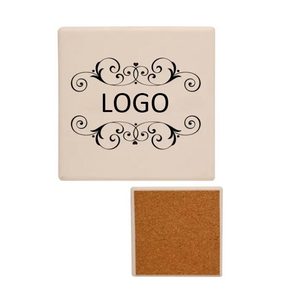 Square Ceramic Coaster