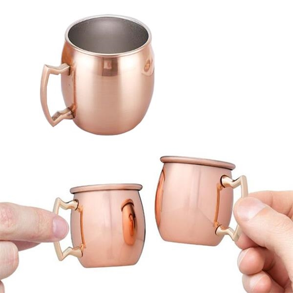2 oz. Copper Plated Mule Mug