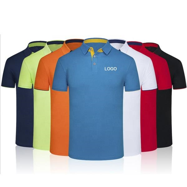 polo shirtShort Sleeve men's polyester dry fit man Golf Polo