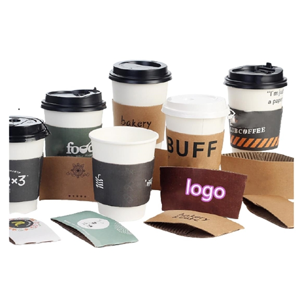 Coffee Paper Cup Sleeve