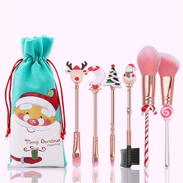 Christmas Gift 6-piece Makeup Brush