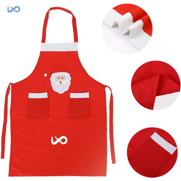 Santa's Apron for Christmas / Santa Claus Dinner Party Apron