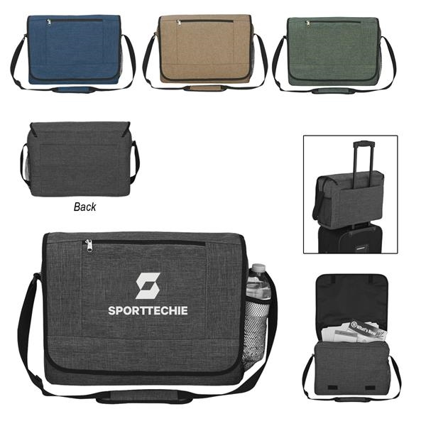 Messenger Bag with Trolley Sleeves