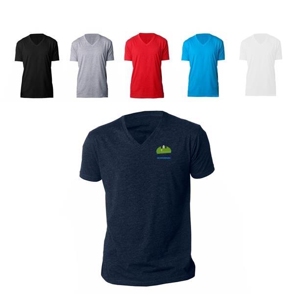 Next Level Premium V-Neck Shirt for Men