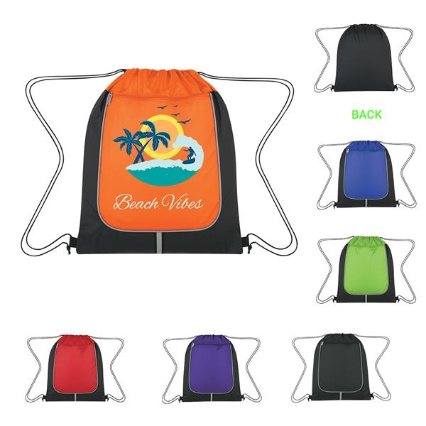 Achiever's Drawstring Backpack