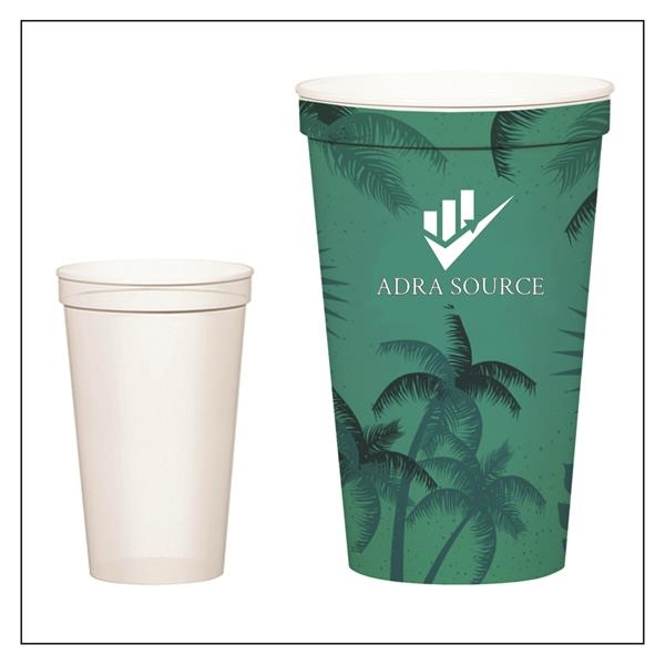 Large Solid-Colored Arena Cup - 22 oz.