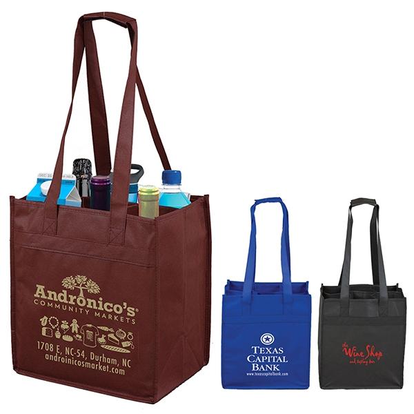 The Sonoma 6 Bottle Wine Tote Bag
