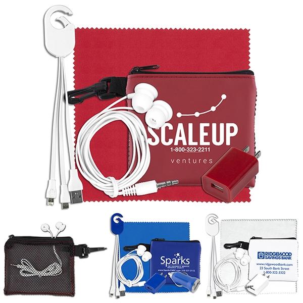 TechMesh Clip Mobile Tech Accessory Kit