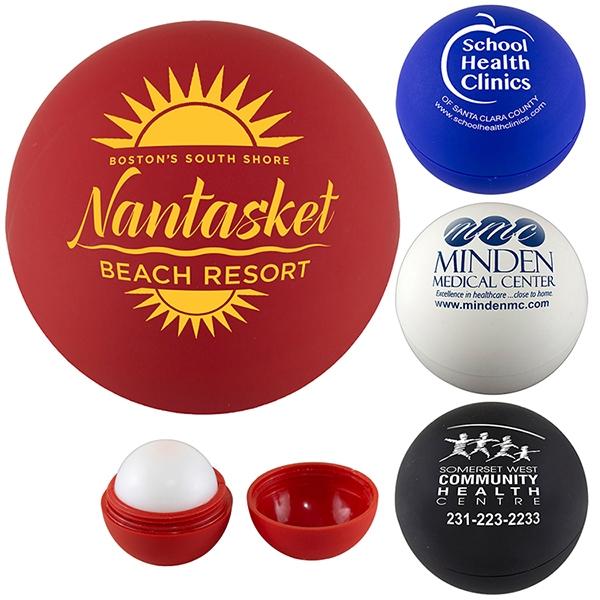 Camilla Soft Vanilla Scented Soft Touch Lip Moisturizer Ball