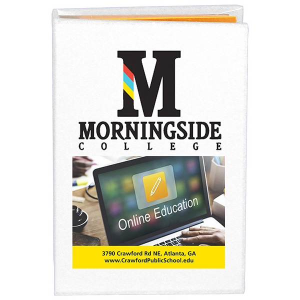 PhotoImage® Full Color Imprint Compact Sticky Notes and Flag