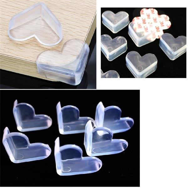 Heart-shaped Corner Protector Anti Collision Frame