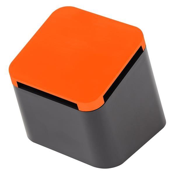 Tilted Wireless Cube Speaker in Box