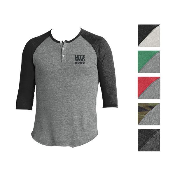 Raglan Henley Shirt