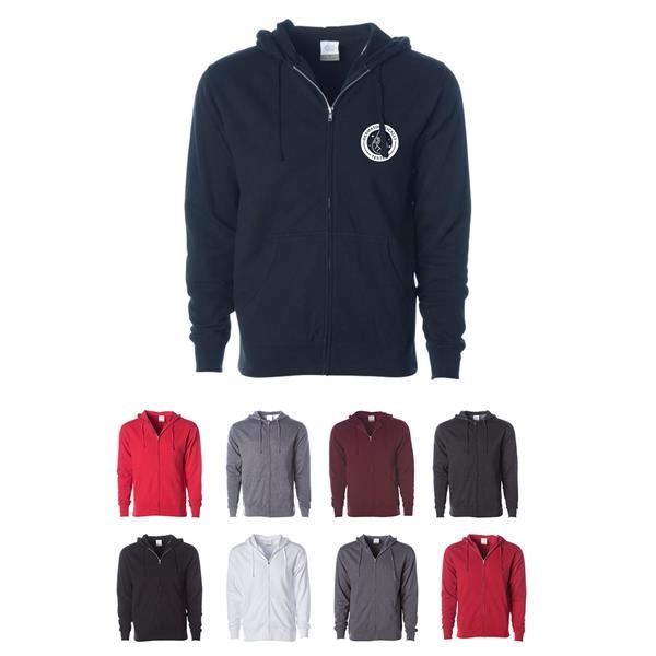 Men's Soft Sweatshirt with Zipper and Hood
