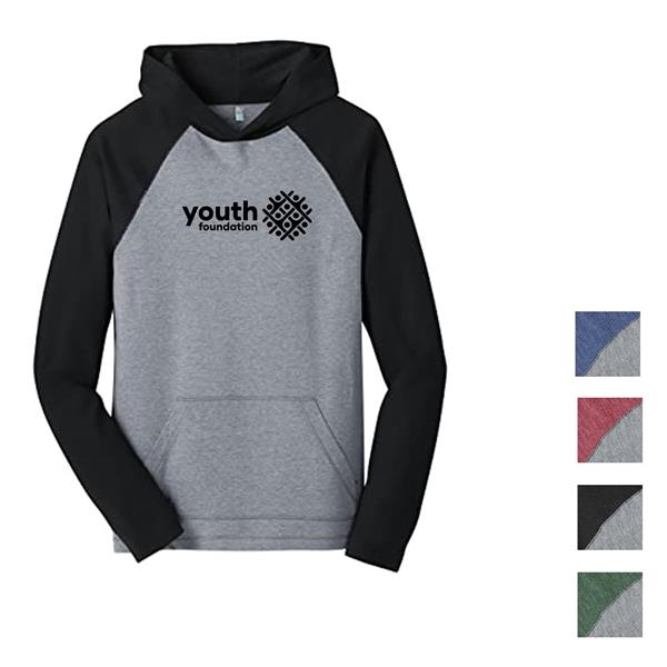 District® Male Youth's Hooded Raglan