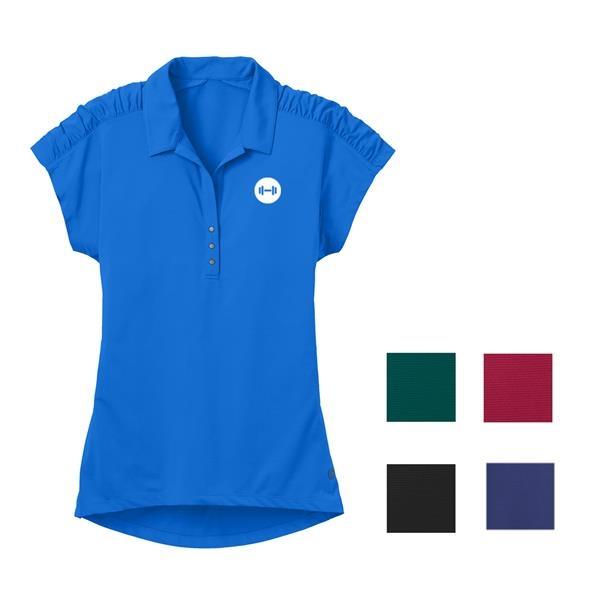 Women's Linear Polo Shirt