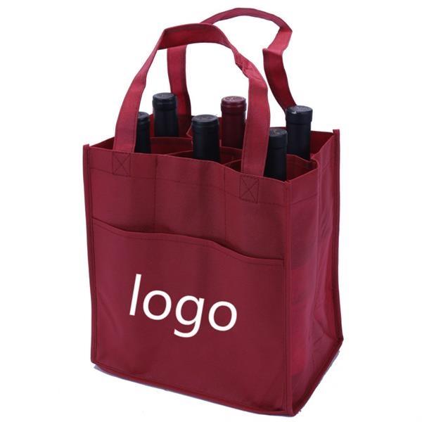 6 Bottle Wine Tote Bag
