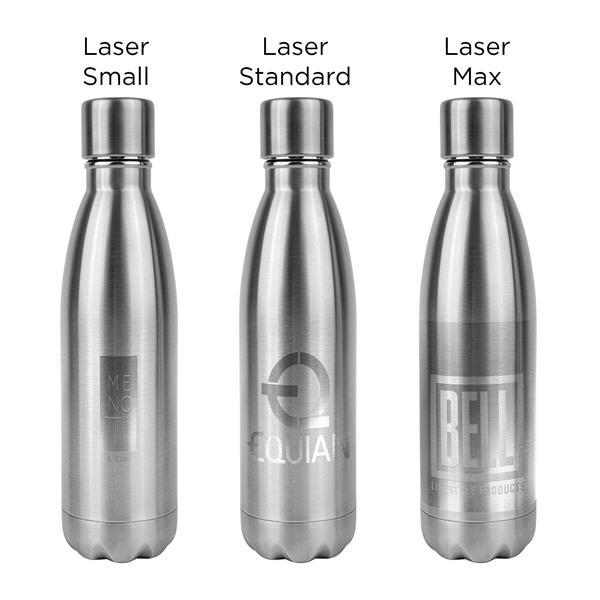 HD-200 Self-Sanitizing 17oz Water Bottle With UV-C Light Cap