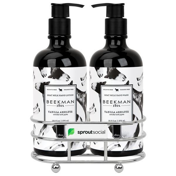 Beekman 1802® Vanilla Absolut Soap & Lotion Gift Set