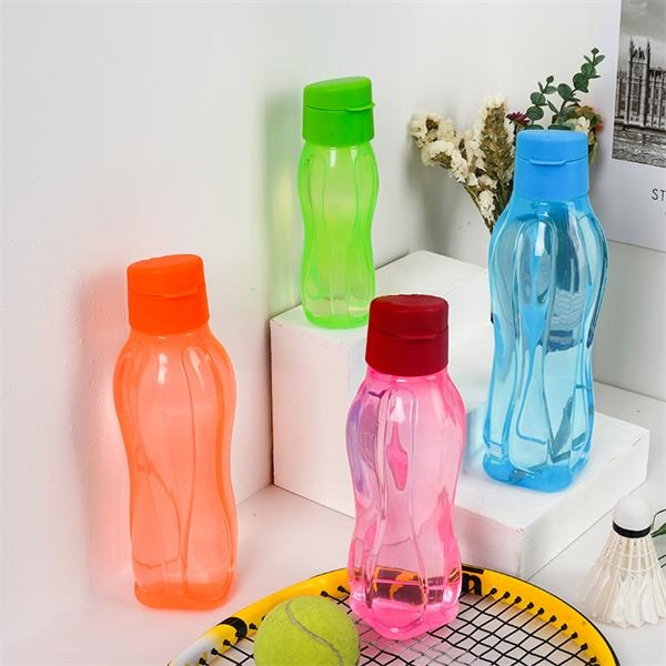 Plastic Sports Bottle with Hand Strap