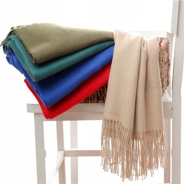 Acrylic knit Scarf