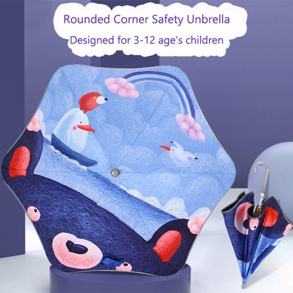 Children Safety Sun&Rain Umbrella