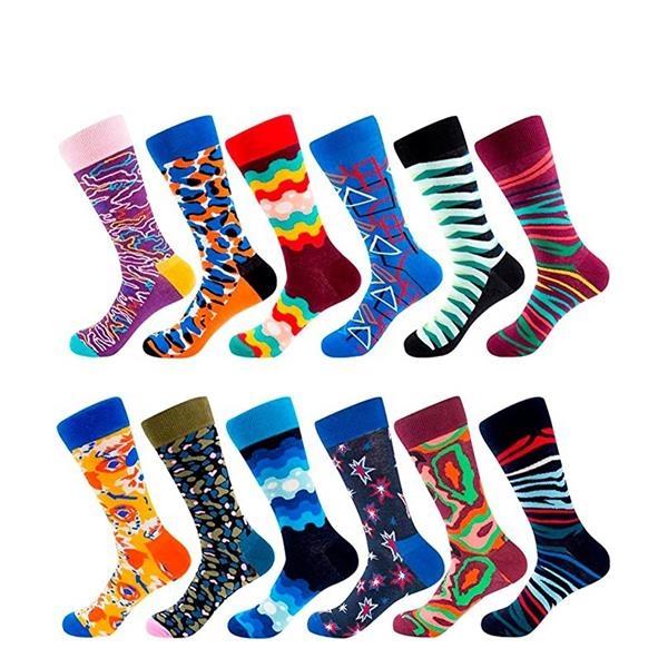 Custom Logo High Quality Colorful Socks