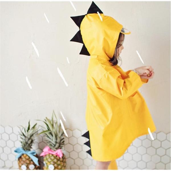 Small Dinosaur Baby Raincoat