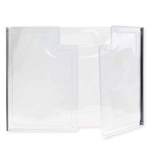 """12"""" Desk & Table Shield - Blank"""