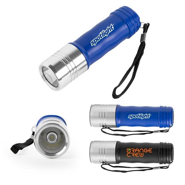 Three-Mode COB Flashlight