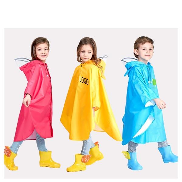 Customizable Cute Children's Raincoat