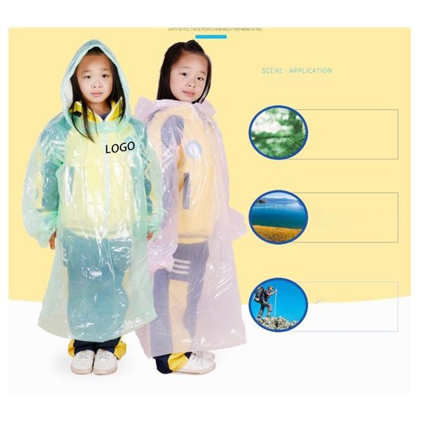 Disposable Children's Raincoat