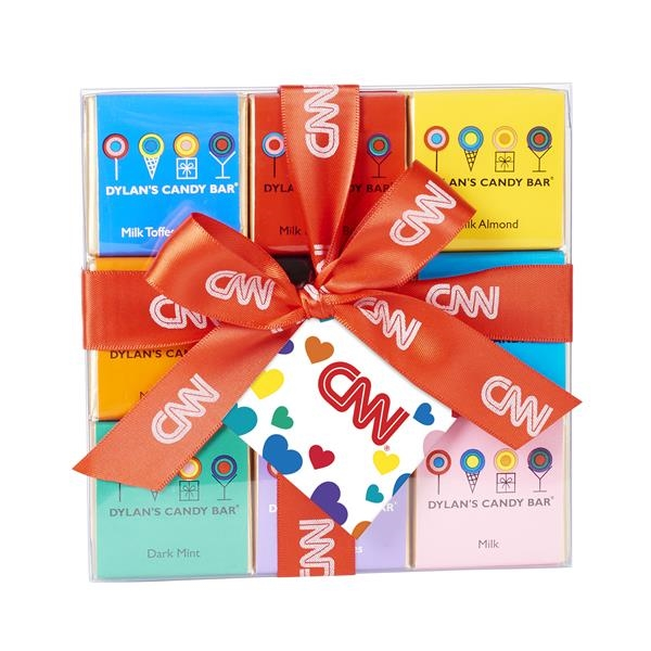 Valentine's Day 18 Piece Chocolate Square Pack